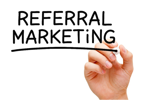 referral marketing whiteboard