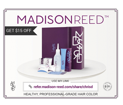 Madison Reed personalized link