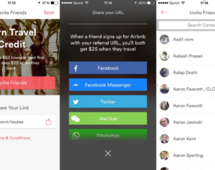 Airbnb Refer a Friend Software