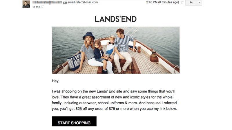 lands-end-referral-share-message