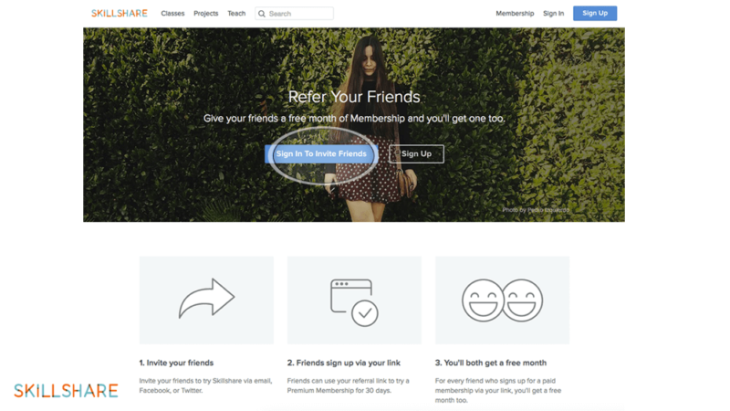 skillshare-referral-landing-page