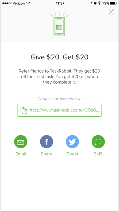 34 Great Mobile Referral Program Examples | Extole