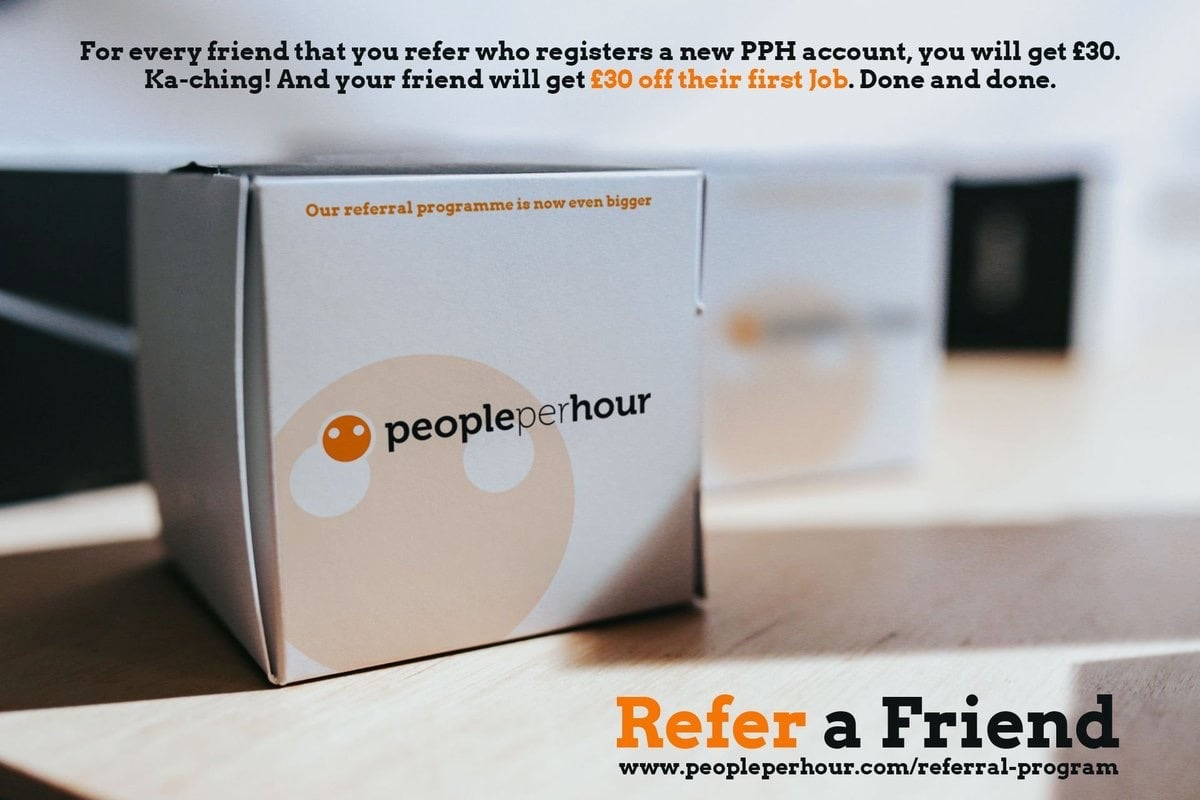 Referral marketing on delivered packages