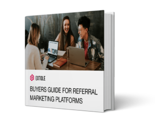 Cover for e-book Referral Platform Buyer's Guide