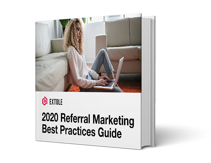 Book Cover: 2020 Referral Marketing Best Practices Guide