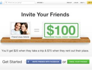 Airbnb Referral Marketing Example