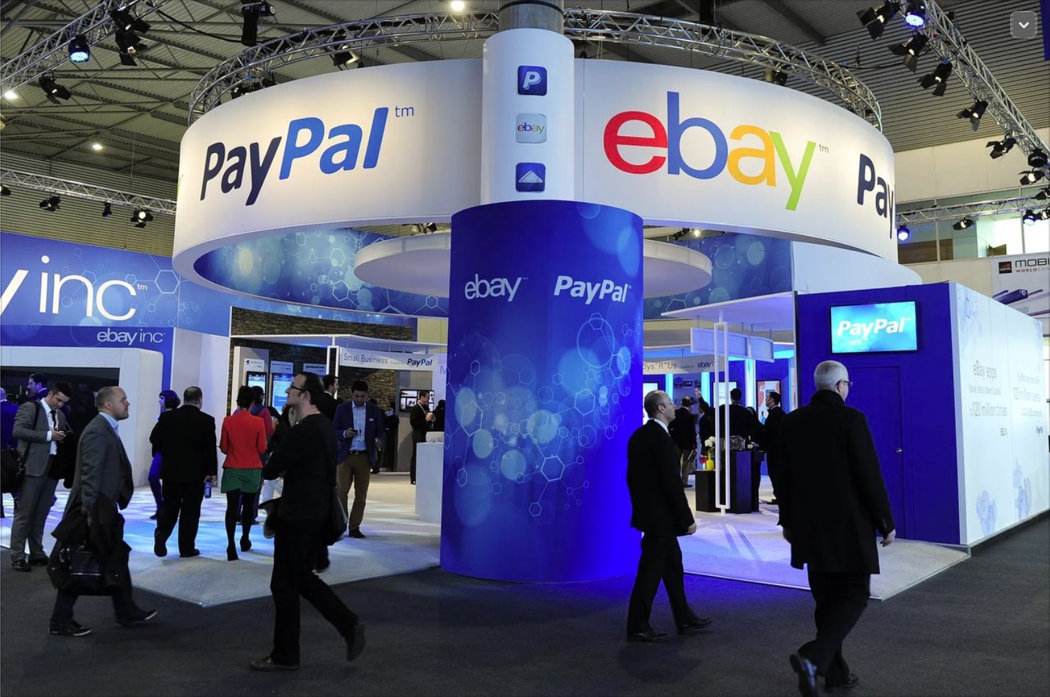 PayPal Booth at a Trade Show